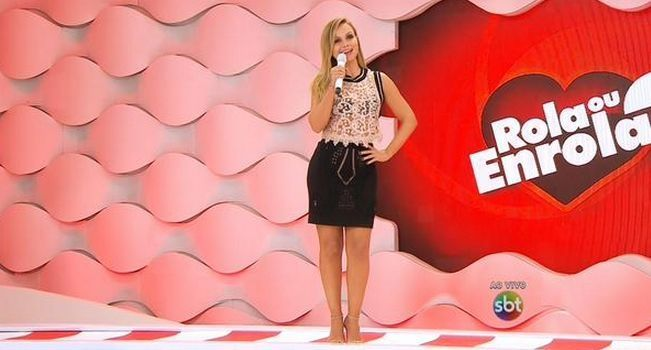 Eliana apresenta seu programa ao vivo (Foto: Reprodução/SBT)