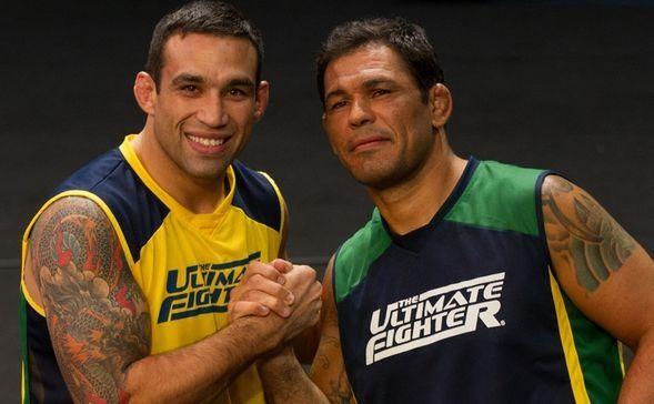 Maurício Shogun e Minotauro comandam reality (Foto: Divulgação/UFC)