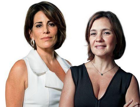 Gloria Pires e Adriana Esteves, as vilãs de Babilônia