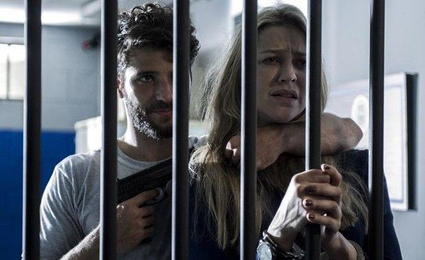 Bruno Gagliasso e Luana Piovani em cena de Dupla Identidade (Foto: Estevam Avellar/TV Globo)
