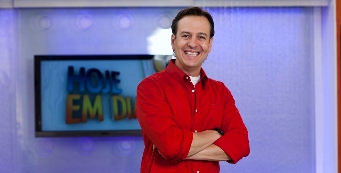 Celso Zucatelli foi dispensado do Hoje em Dia no início do ano (Foto: Edu Moraes/TV Record)
