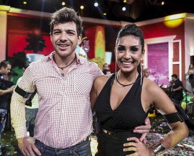 Cézar e Amanda: os dois finalistas do BBB 15 (Foto: Inácio Moraes/GShow)