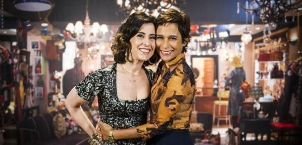 Fátima e Sueli ganham novo cenário em Tapas & Beijos (Foto: João Miguel Jr./TV Globo)