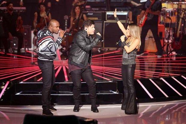 Trio de jurados faz musical inédito com medley (Foto: Isabella Pinheiro/GShow)