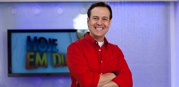 Celso Zucatelli foi dispensado do Hoje em Dia no início deste ano (Foto: Edu Moraes/TV Record)