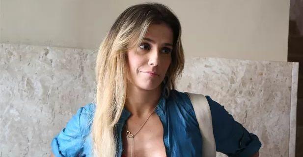 Deborah Secco nas gravações de Boogie Oogie (Foto: Carol Caminha/GShow)
