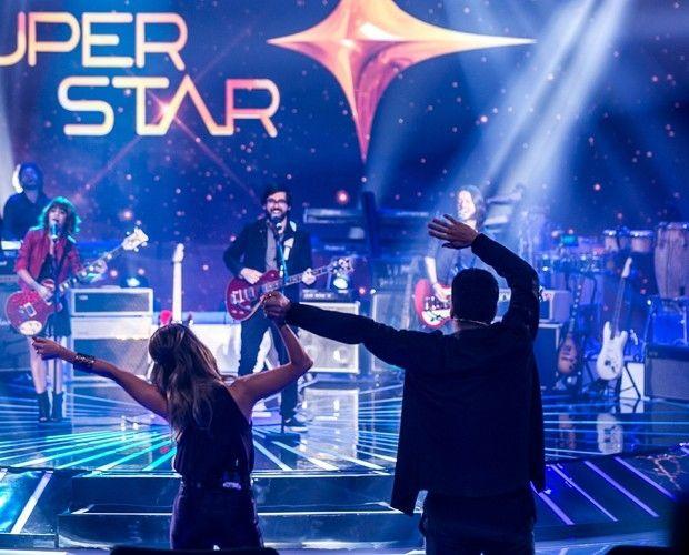 Jurados se empolgam durante apresentação no SuperStar (Foto: Isabella Pinheiro/GShow)