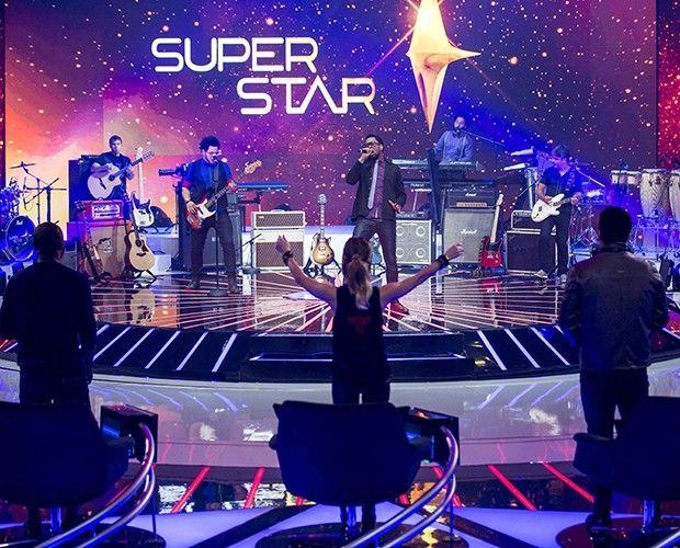 Serial Funkers fechando a noite da terceira Audição do SuperStar (Foto: Isabella Pinheiro/TV Globo)