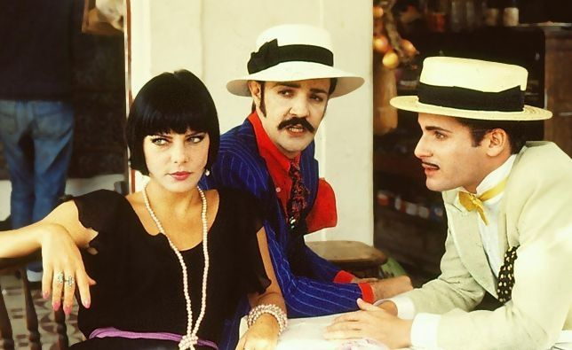 Bruna Lombardi, Ney Latorraca e Lauro Corona (Foto: TV Globo)