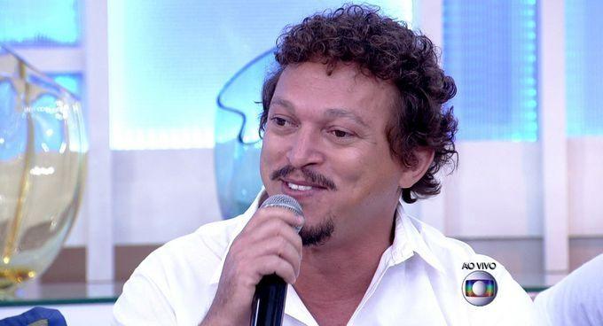 Participação do ator Fábio Lago no Encontro (Foto: Reprodução/TV Globo)