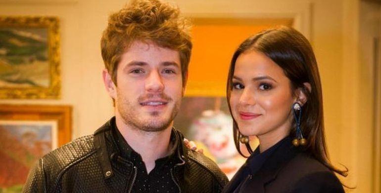 Bruna Marquezine e Maurício Destri, os protagonistas (Foto: João Miguel Júnior/Divulgação TV Globo)