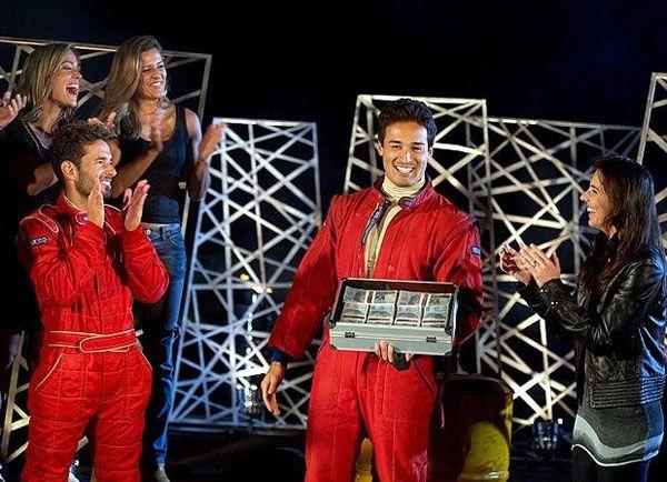 O analista financeiro Fábio Toshi, um dos vencedores do reality (Foto: TV Globo)