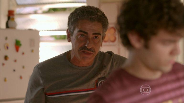 Durval e Bernardo em cena de Sete Vidas (Foto: Reprodução/TV Globo)
