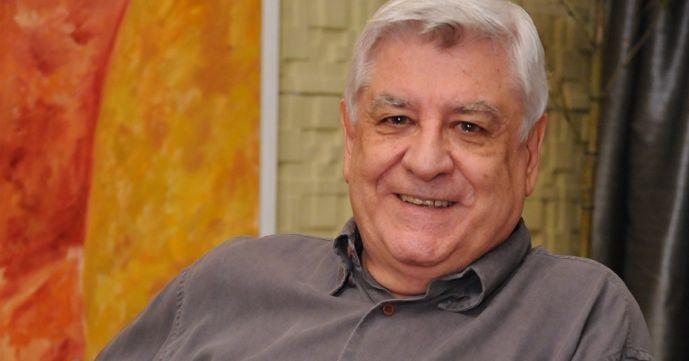 O autor Lauro Cézar Muniz (Foto: Michel Ângelo/TV Record)