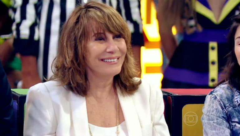 Renata Sorrah em entrevista ao Esquenta! (Foto: Reprodução/TV Globo)