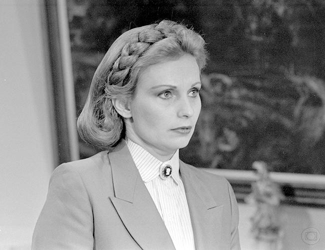 A atriz Norma Blum. Foto: Divulgação/Globo