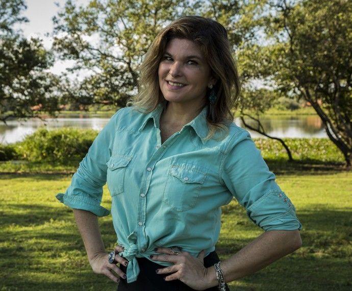 A atriz Cristiana Oliveira (Foto: Gabriel Nascimento/GShow)