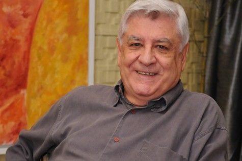 O autor Lauro César Muniz (Foto: Michel Ângelo/TV Record)