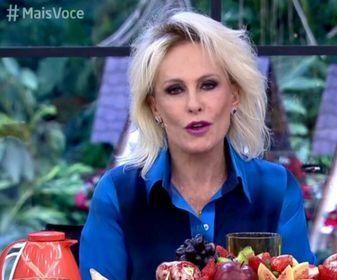 Ana Maria Braga no Mais Você. Foto: Reprodução