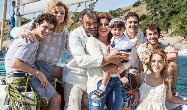 Elenco principal de Sete Vidas. Foto: Divulgação/Globo