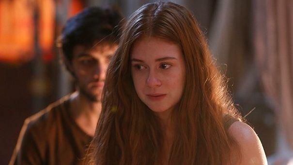 Marina Ruy Barbosa em cena de Totalmente Demais. Foto: Reprodução/Globo