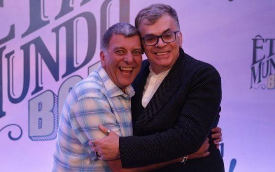 Jorge Fernando e Walcyr Carrasco. Foto: Divulgação/Globo