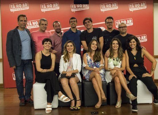 O elenco de Tá no Ar: a TV na TV. Foto: Divulgação/Globo