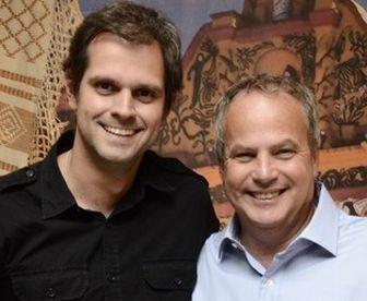 Leonardo Nogueira e Jayme Monjardim, os diretores.