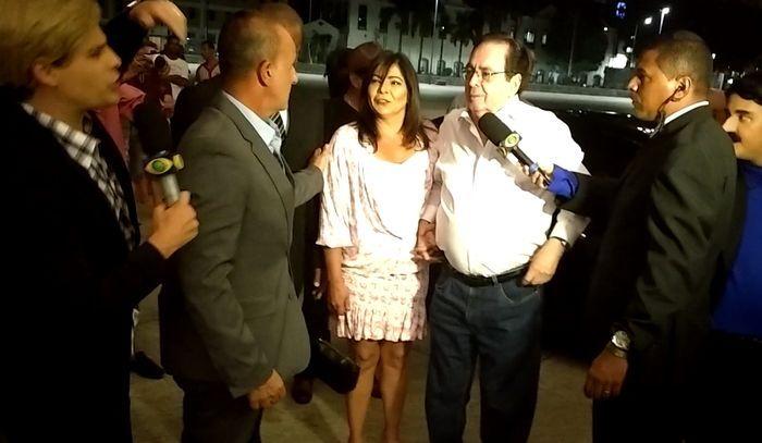 Pânico entrevistando Benedito Ruy Barbosa. Foto: Jeferson Cardoso/OPTV