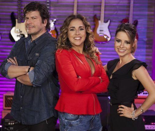 Os jurados. Crédito: Pedro Curi/ Globo