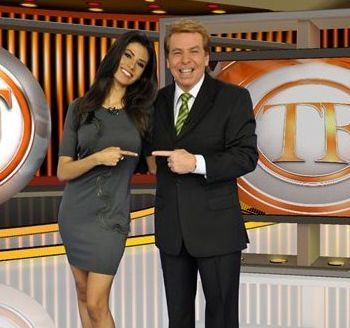 Flávia Noronha e Nelson Rubens. Foto: RedeTV!