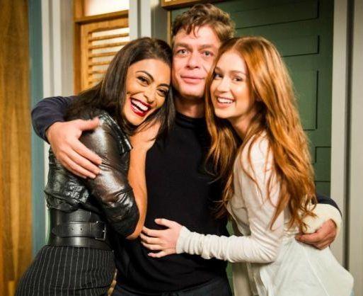 O trio de protagonistas de TD+. Foto: Globo