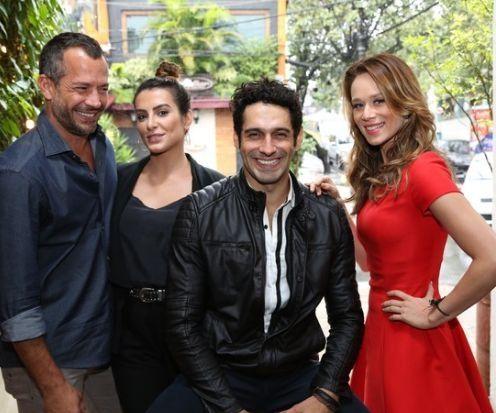 Os protagonistas. Foto: Globo