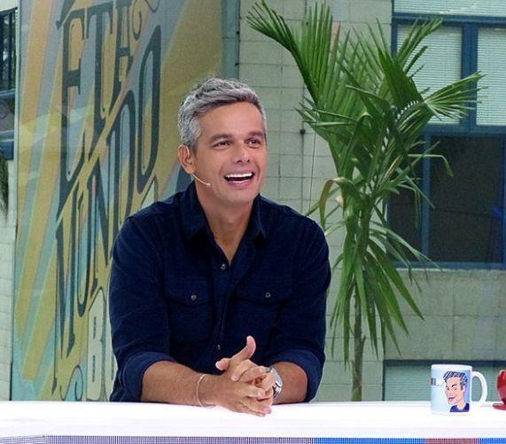 Otaviano Costa apresenta o VS. Foto: Globo