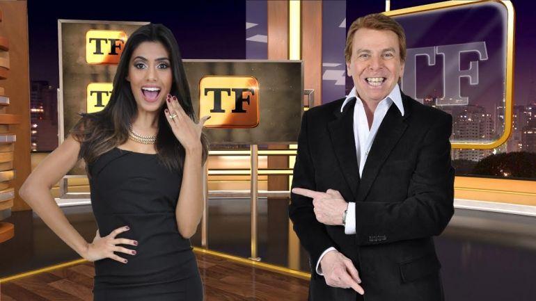 Flávia Noronha e Nelson Rubens. Foto: Divulgação/RedeTV