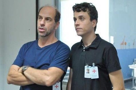Roberto Bomtempo e Paulo Vilela. Foto: Record