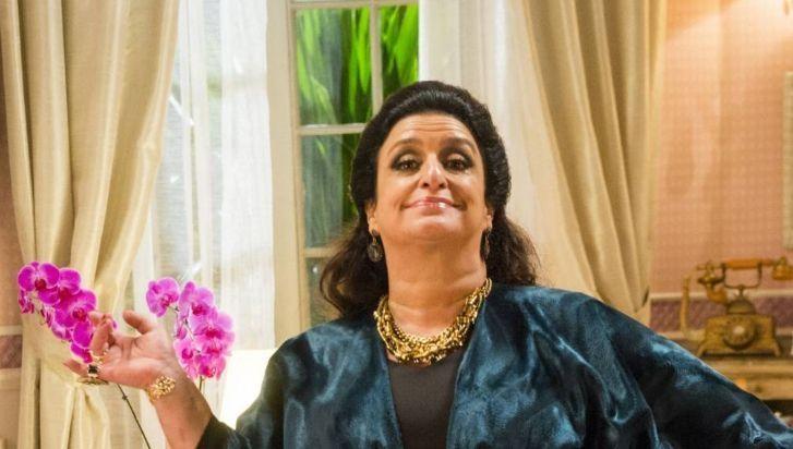 A atriz em cena de Haja Coração. Foto: Globo