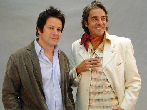 Murilo Benício e Alexandre Borges. Foto: Globo
