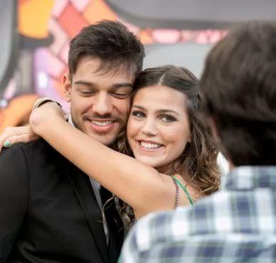 Lucas Lucco e  Pâmela Tomé. Foto: Divulgação/Globo