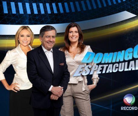 Os atuais apresentadores do DE. Foto: Record