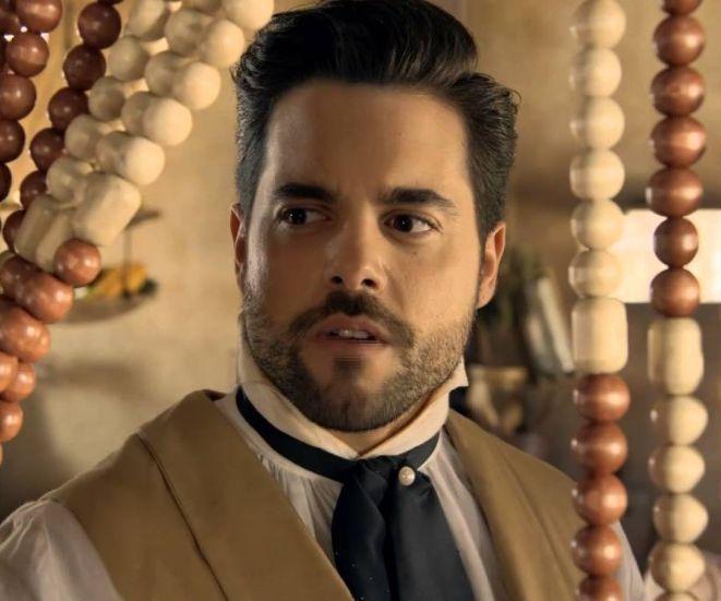 Pedro Carvalho (Miguel). Foto: Reprodução/Record