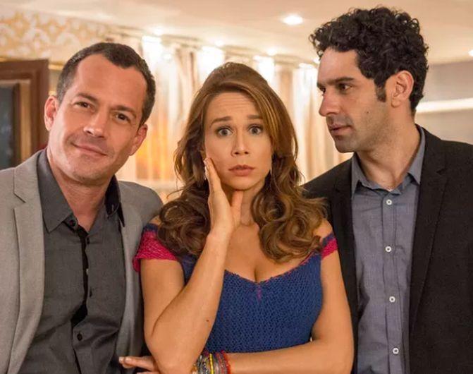Os protagonistas de Haja Coração. Foto: Globo
