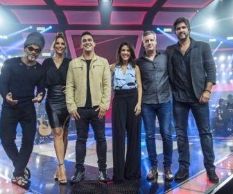 Apresentadores e jurados. Foto: Globo