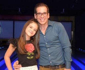 Mel Maia e Leandro Hassum. Foto: Globo