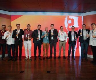 Vencedores do 3º Prêmio Globo de Divulgação. Divulgação/Globo