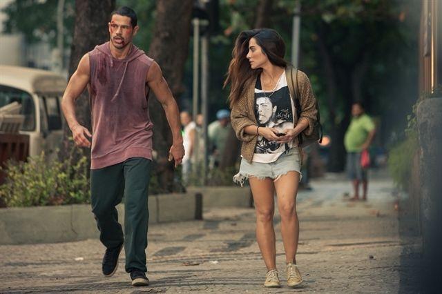 José Aldo (José Loreto) e Vivianne (Cleo Pires). Foto: Globo/Divulgação