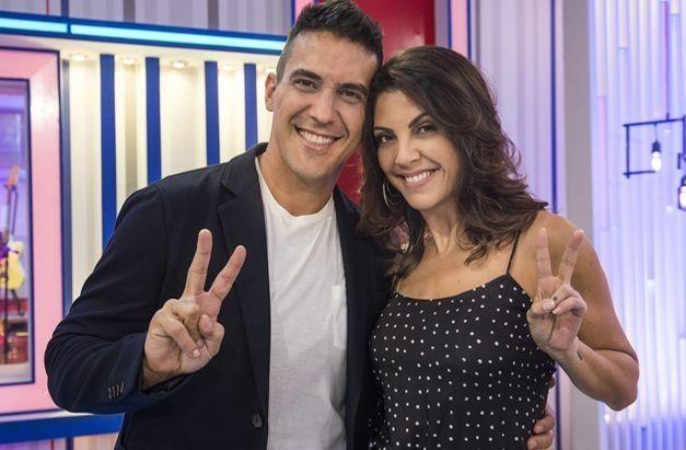 André Marques e Thalita Rebouças. Foto: Globo/Mauricio Fidalgo