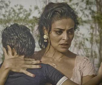 Juliana Paes em cena de Dois Irmãos (Globo)