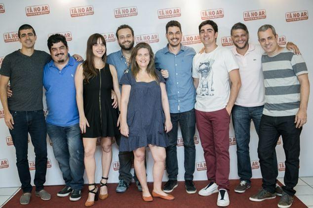 Os redatores. Foto: Globo/Raquel Cunha