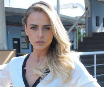 A atriz Juliana Silveira. Foto: Record TV/Divulgação